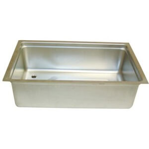 Randell pan with drain