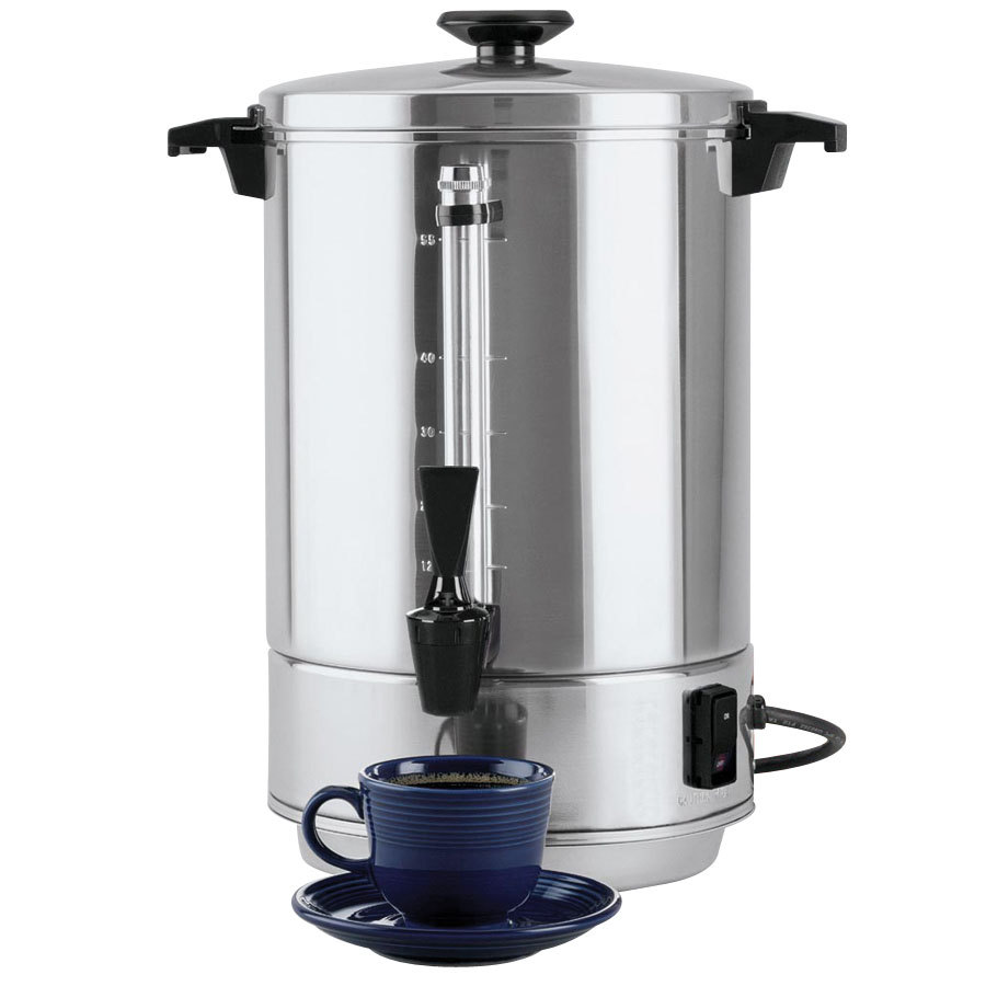 Coffee Maker West Bend : Regalware 58055R 12-55 Cup, Aluminum Coffee Maker West Bend Creative Assemblies Inc ...