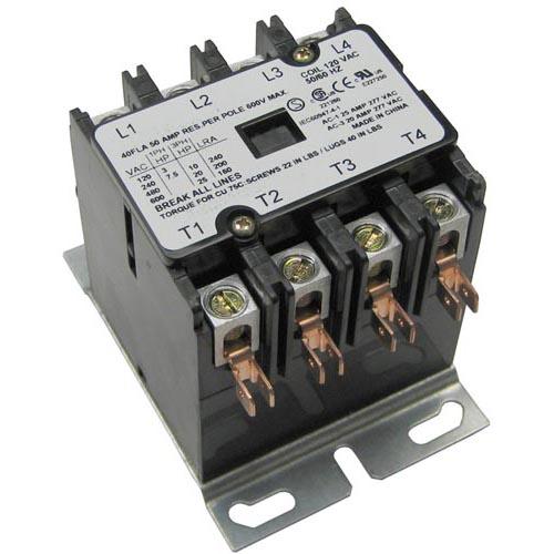 Contactor 4 Pole 110  220v 40a  50a Hartland Controlscreative Assemblies Inc    Allied Sales Corp