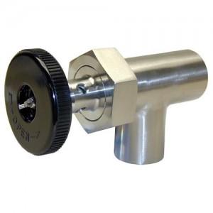 1 1/2 valve with knob